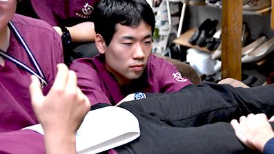 研修風景阪神間の訪問医療マッサージわごころ治療院